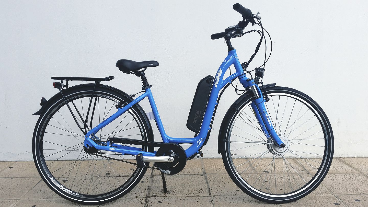 KTM CITY LINE BLUE Platinium