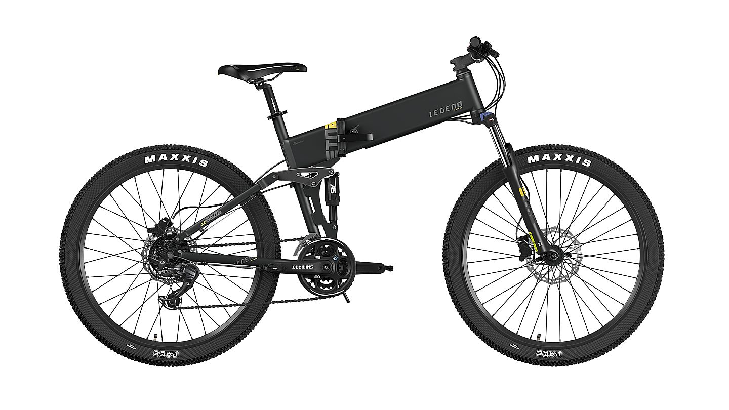 Legend ETNA 27,5 Smart eBike Negra