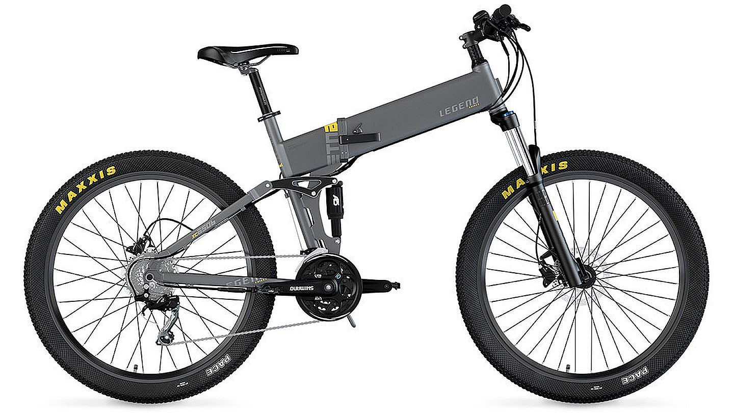 Legend ETNA 27,5 Smart eBike Titanio