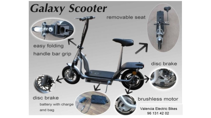 Scooter Galaxy Brushless 350 W